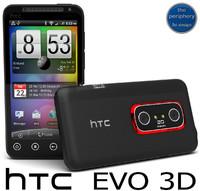 HTC Evo 3D Smartphone
