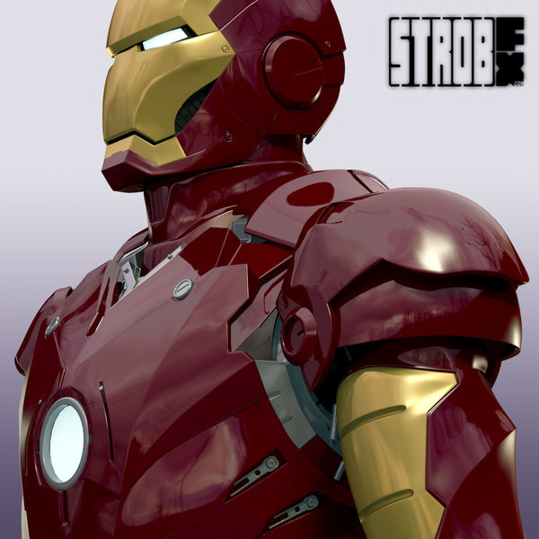 3d iron man mark iii