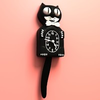 old kit cat clock 3d model