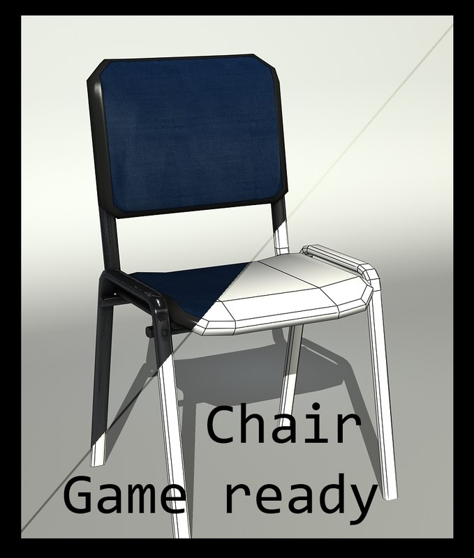 ready chair 3d 3ds