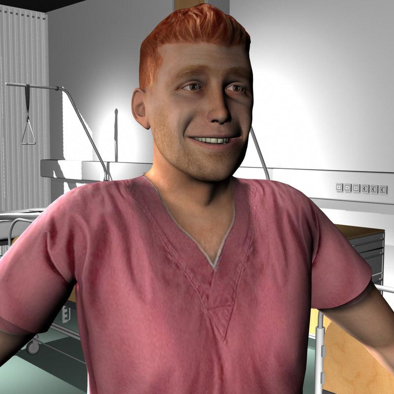 male medical staff ma