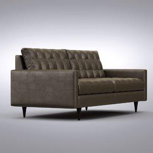 max crate barrel - sofa