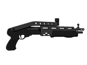 3d spas shotgun model