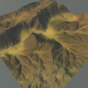 3ds max mountain terrain