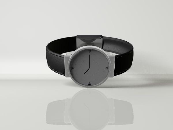 wrist watch 3d c4d