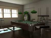 Billiard table pro