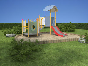 3d toy playgrounds