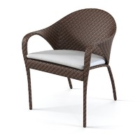 Dedon Tango Wicker Dining Chair