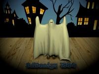 kid ghost 3d model