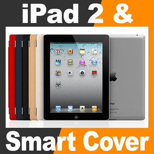 apple ipad smart cover c4d