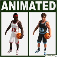 Basketball Players Pack Collection CG