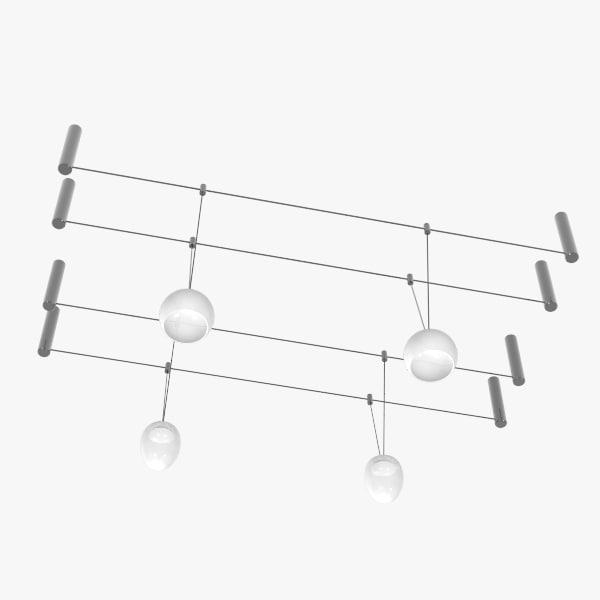 lamp structure 3d model
