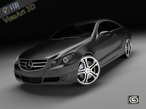 mercedes e brabus car 3d model