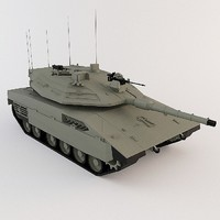 Merkava MK IV low poly