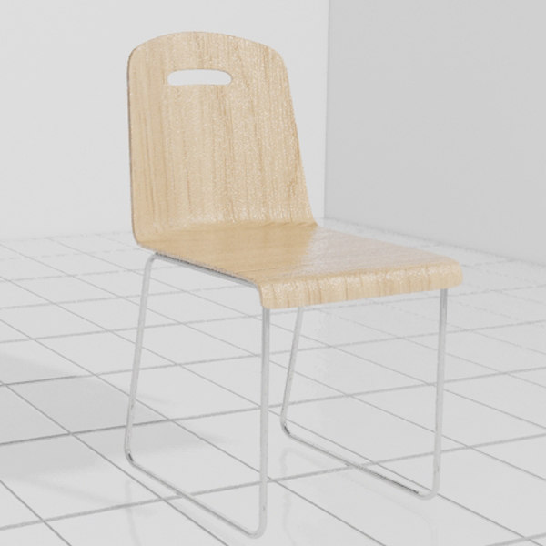 max wooden chair wood