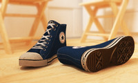 allstar shoes 3d max