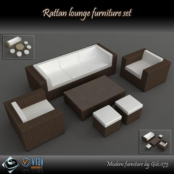 max rattan furniture set