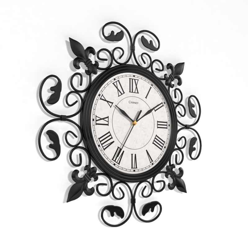 Analog decorative wall clock model 3d analog decorative wall clock model amipublicfo Choice Image