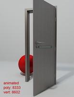 door porta concept b1 3d 3ds