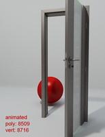 Door porta space cube