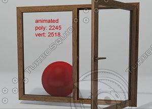 3d model window 02