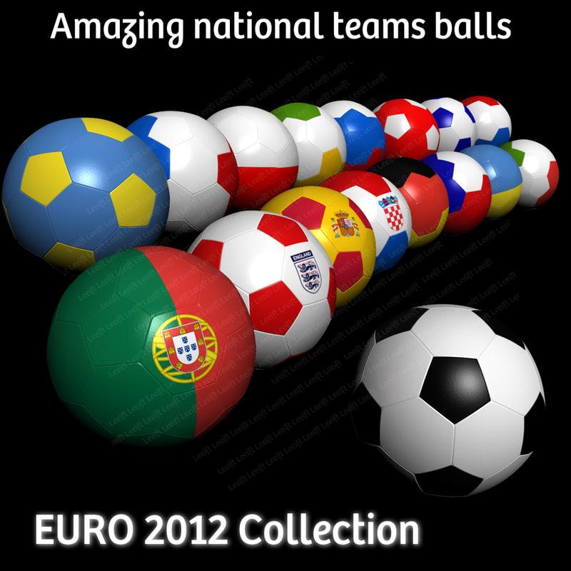 3ds soccer balls 2012