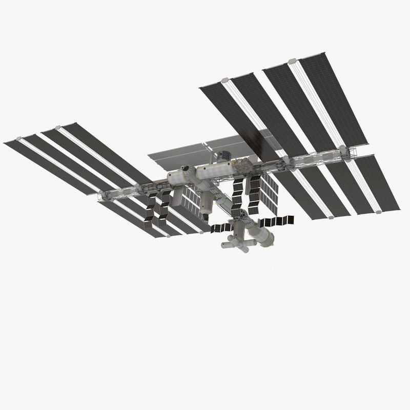 space station veve 001 3d model