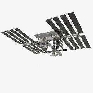 space station veve 001 3d model