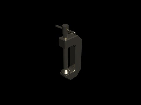 c-clamp 3d max