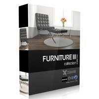 CGAxis Models Volume 25 Furniture III