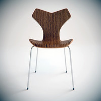 3d grand prix chair arne model