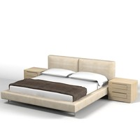 bed modern contemporay max