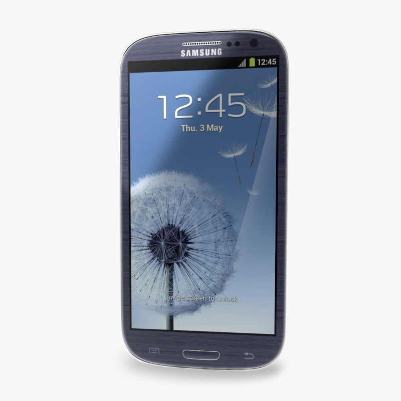 3d model of samsung galaxy s