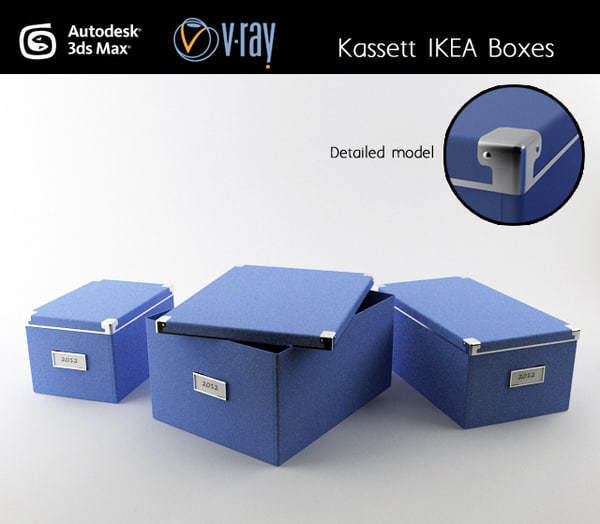 3d model of kasset modeled