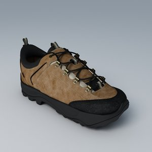 shoe ecco xpedition 3d max