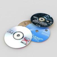 compact disks 3d 3ds