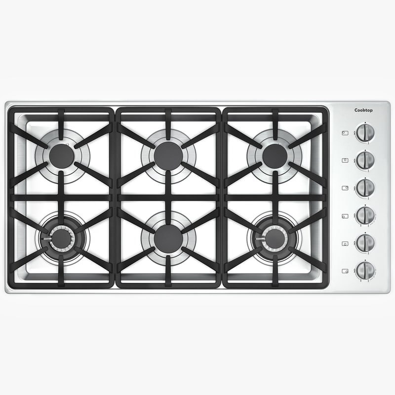 max gas cook burners cooktop