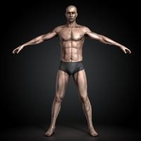 man human male 3d c4d