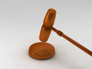 justice mallet 3d model