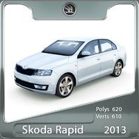 Skoda Rapid 2013