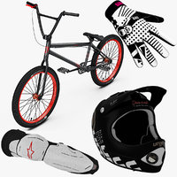 BMX Bike and Equipment Collection