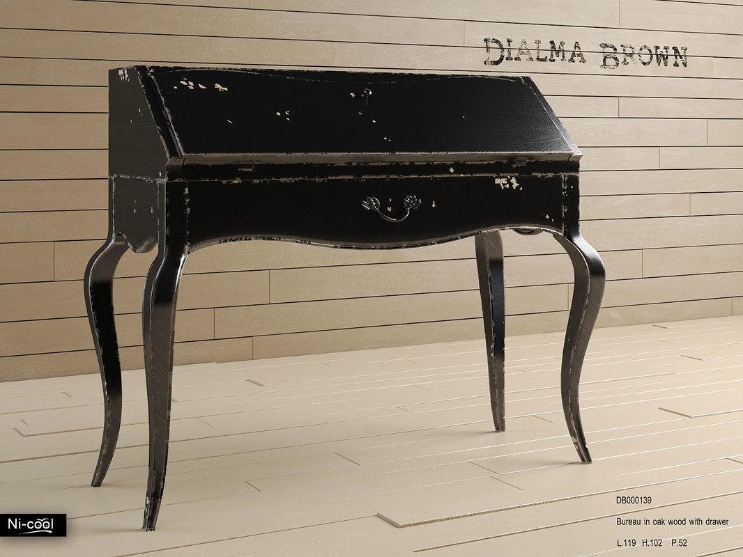 3d bureau dialma brown db000139