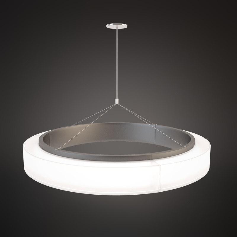 chandelier norlight bubble 1800 3d model