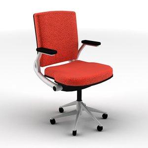 3d 3ds classroom office chair