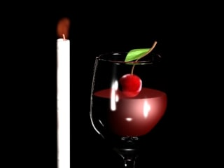 3ds max drink cherry cup