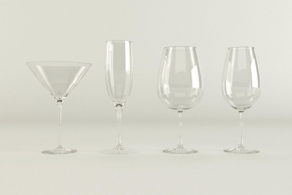 3ds max martini glass