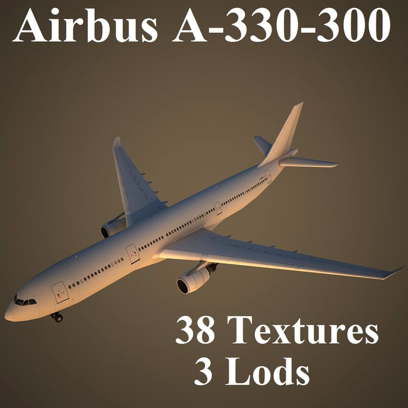 3d airbus airlines