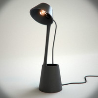 lean table light tom dixon 3d model