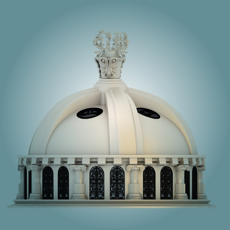 3dsmax landmark dome