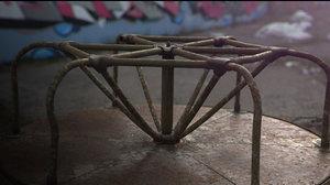 maya old worn carousel